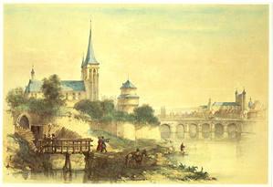martinuspoort en de martinuskerk in wijck